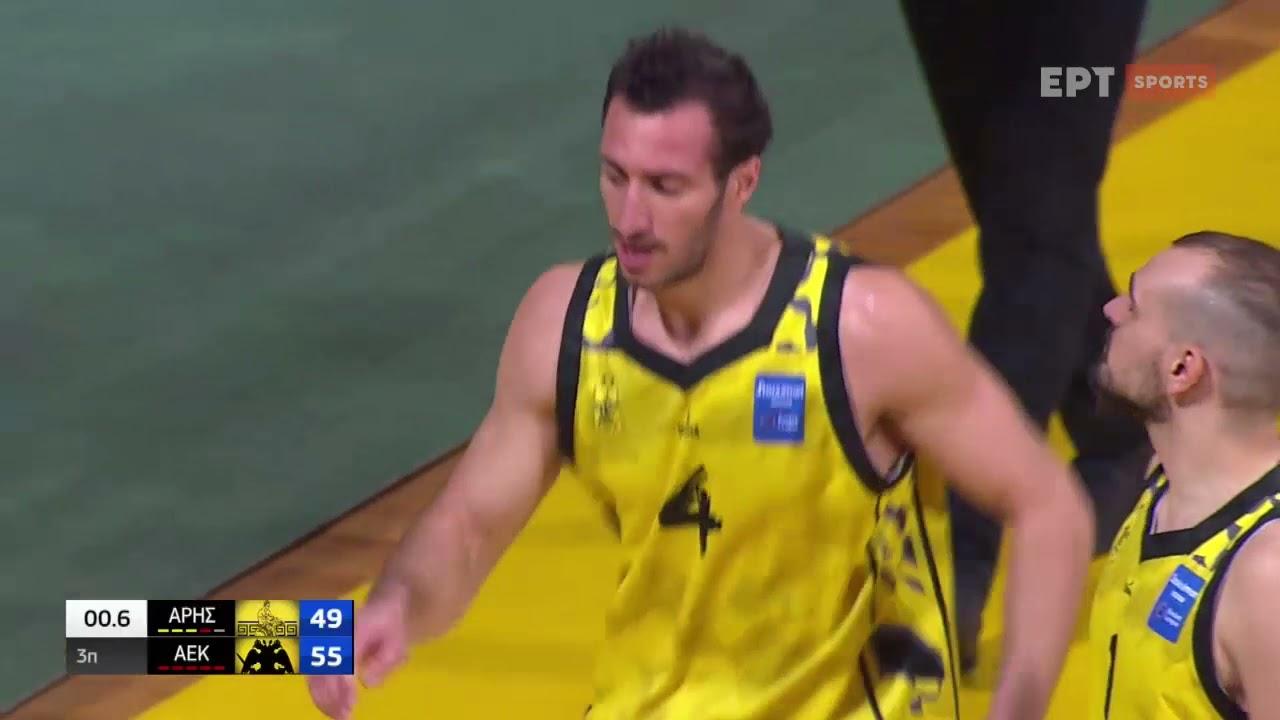 Basket League   Άρης – ΑΕΚ 68-75   HIGHLIGHTS   27/03/2021   ΕΡΤ