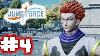 JUMP FORCE Gameplay Walkthrough Part 4 - Evil Vegeta (Let's Play)