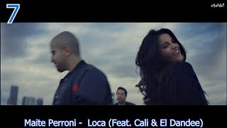 TOP 10 LATIN SONGS (JULY 8, 2017)