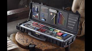 MTB-Werkzeugkoffer: Lukas Traum-Werkzeugkiste für Mountainbiker im Detail // DIY-Toolbox Rundgang