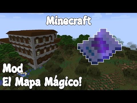 Minecraft 1.11.2 MOD EL MAPA MÁGICO! Magical Map Mod Español!