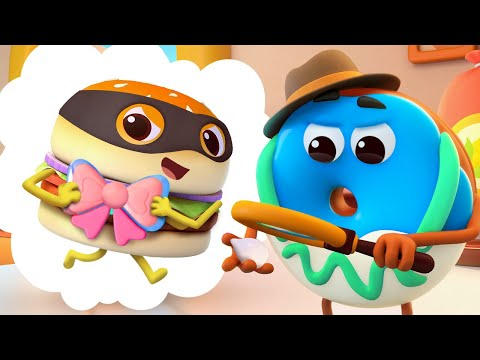 Rainbow Ice Cream Song | Yummy Food Family | Nursery Rhymes | Kids Songs | Baby Cartoon | BabyBus