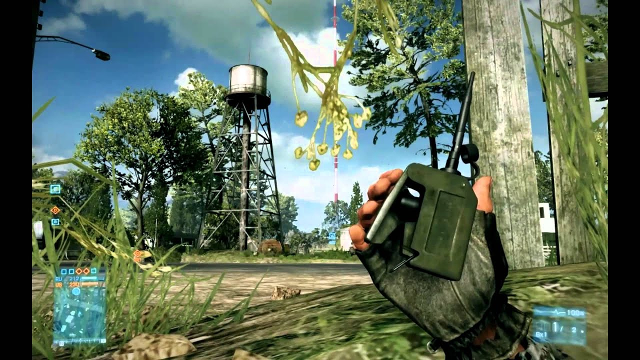Trolling Battlefield 3 Players With Some Well-Placed Explosives