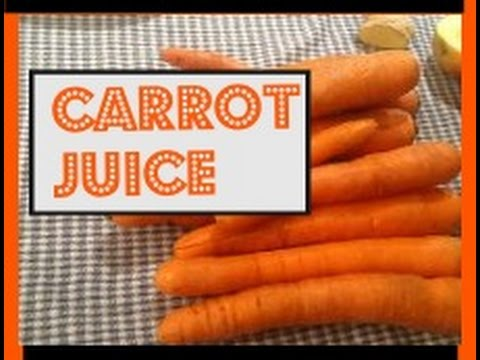 Video BEST CARROT JUICE, ANTI CANCER DRINK!