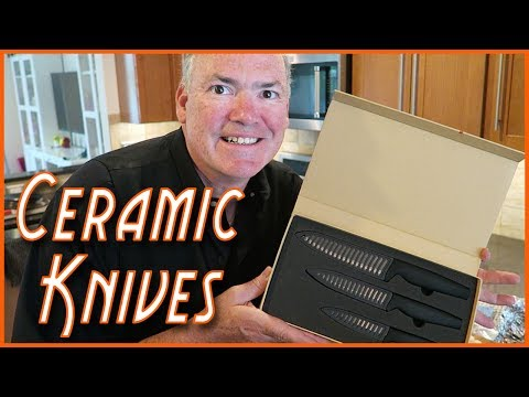 Ceramic Knives Test –  Shan Zu Knife Set from Amazon only $19.99