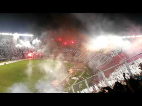 """Fiesta Espectacular River vs Bok. Sudamericana 201"" Barra: Los Borrachos del Tablón • Club: River Plate • País: Argentina"