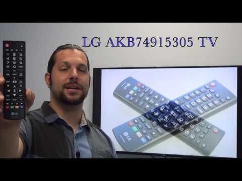 LG AKB74915305 TV Remote Control