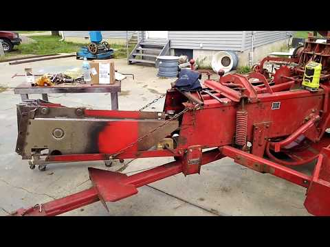 Rebuilding New Holland Baler Plunger