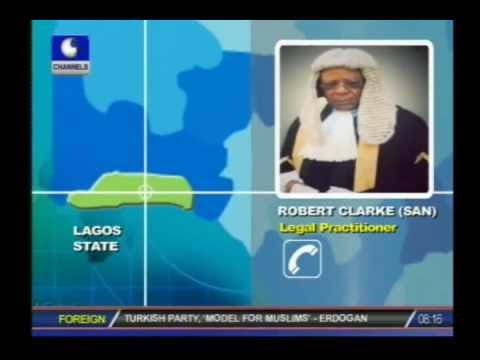 Nigeria has civilian not democratic government -- Robert Clarke