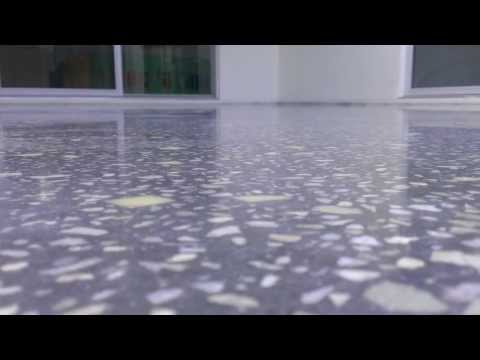 3000 Grit polished concrete Brisbane