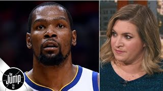 The Knicks were not prepared to offer Kevin Durant the full max - Ramona Shelburne   The Jump