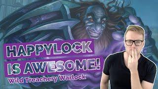 Hearthstone | Happlylock Is Awesome | Wild Treachery Warlock | Rastakhan's Rumble