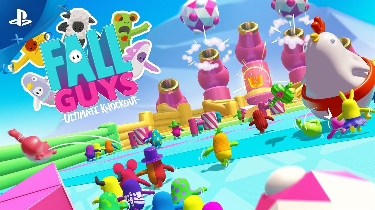 Fall Guys Bounces and Bumbles to PS4 in 2020
