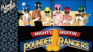 Power Rangers Porn Parody: Mighty Muffin Pounder Rangers (Trailer)