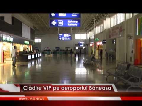 Cladire VIP pe aeroportul Baneasa