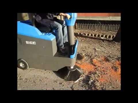 ISAL PB 106 Binicili Zemin süpürme makinası