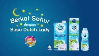 Berkat Sahur dengan Susu Dutch Lady