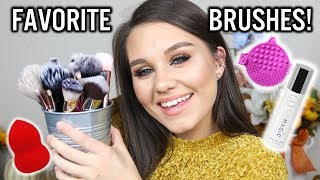 MY FAVORITES BRUSHES + STORAGE & CLEANING TOOLS!