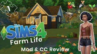 FARM ANIMALS ARE HERE 🐄🐎| The Sims 4 Farm Life | CC