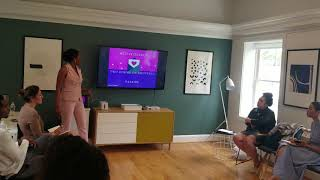 Feyisola Teaches Niche Marketing at DC Wedding Week