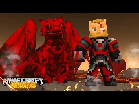The FIRE NATION WILL BE MINE! - Minecraft Dragons