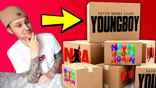 NBA YoungBoy's Team Sent Us A MASSIVE Package!! (SO MUCH STUFF!!)