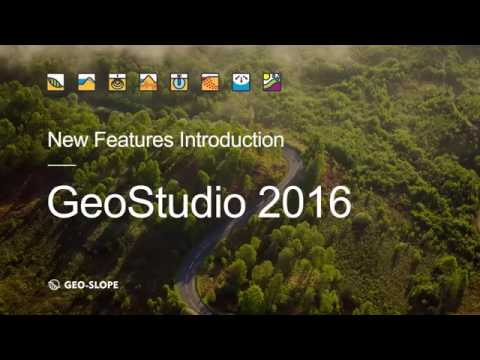 Phần mềm GeoStudio 2016