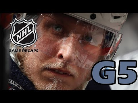 Minnesota Wild vs Winnipeg Jets. 2018 NHL Playoffs. Round 1. Game 5. 04.20.2018. (HD)