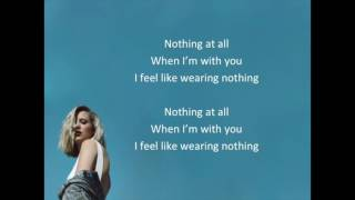 Dagny. Wearing nothing lyrics. Con letra