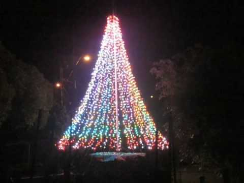 You Re Not Seeing Double Rgb Christmas Trees Hackaday