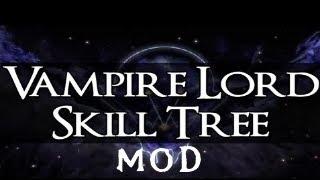 Skyrim Dawnguard DLC Mod | Royal Bloodline - Vampire Lord Perk