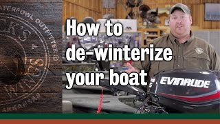 How to de-winterize your boat