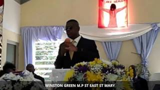 Winston Green M.p St East St Mary Tribute To Miss Girlie