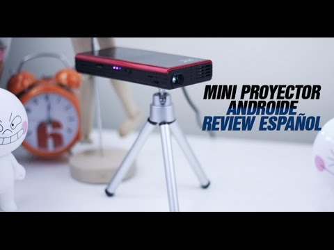 Mini Proyector Portable Androide E03S Review Español