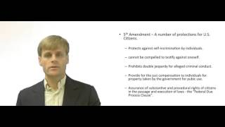 The 5th Amendment - Explained