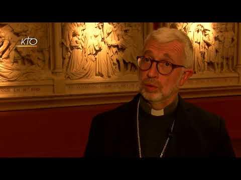 Ecouter l'appel du Seigneur : témoignage de Mgr Bertrand Lacombe
