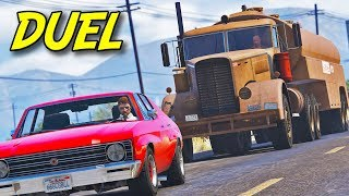 """Duel""   GTA 5 Road Thriller Film"