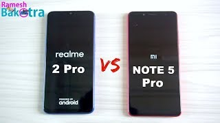 Realme 2 Pro vs Redmi Note 5 Pro SpeedTest and Camera Comparison