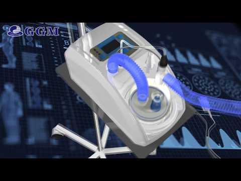 HUMIDOFLO HF-2900D High Flow Oxygen  Therapy System Humidiflow