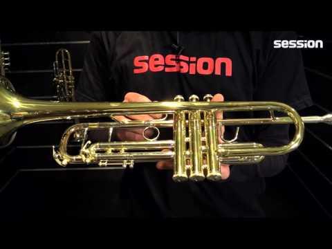 B&S 3137G-L Challenger I Trompete Goldmessing