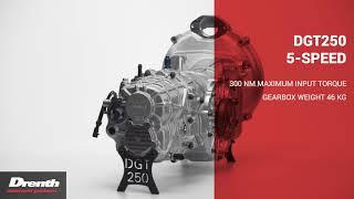 Drenth Gearboxes DGT 250 5 SPEED
