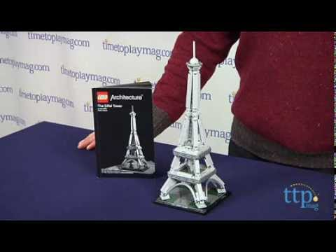 Lego Architecture The Eiffel Tower From Lego