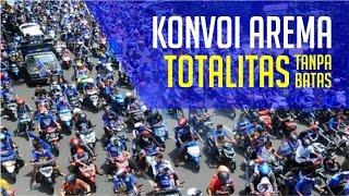 Konvoi Arema 17 April 2016 Tertib Dan Rapi
