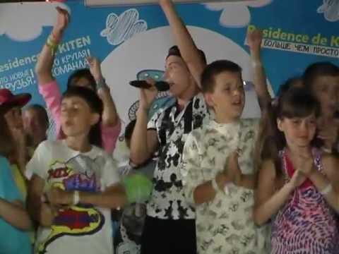 Влад Курасов в детском лагере в Болгарии на Талант шоу