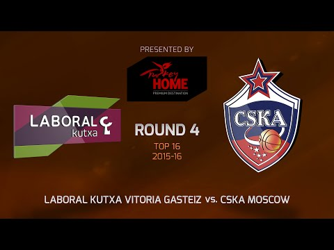 Highlights: Top 16, Round 4, Laboral Kutxa 81-71 CSKA Moscow