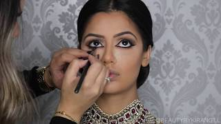 Indian | Bollywood |South Asian Bridal Makeup | Start to Finish | BEAUTY BY KIRAN GILL - Download this Video in MP3, M4A, WEBM, MP4, 3GP