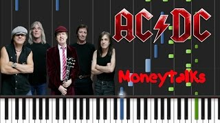 AC/DC - Moneytalks [Synthesia Tutorial]
