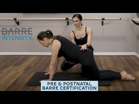 Prenatal and Postnatal Instructor Training & Certification - Barre ...