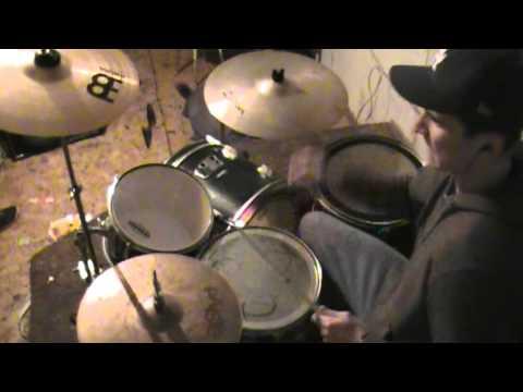 Three Days Grace - burn (drum cover)