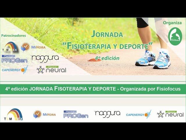 IV Jornada Fisioterapia y deporte